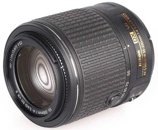 لنز نیکون مدل AF-S DX NIKKOR 55-200mm f/4-5.6G ED VR II