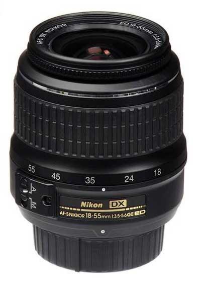 لنز نيکون مدل AF-S DX 18-55mm f/3.5-5.6G EDII