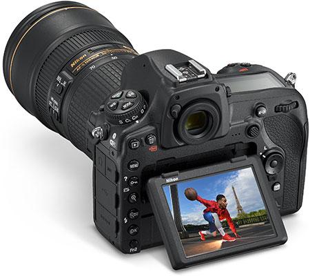 صفحه نمایش لکسی دوربین نیکون مدل D850